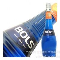 洋酒 波士 蓝橙力娇酒 BOLS BLUE 700ml 鸡尾酒调酒