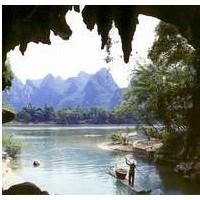 桂林至龙胜黄金线上旅游景点——十二滩漂流