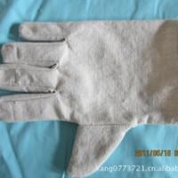 现货供应25厘米单层低温消防帆布手套