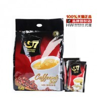 越南中原授权中英文国际版三合一G7咖啡 800g克