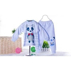贝佳缘 2014秋季童装套装 婴幼儿服装 厂家直销宝宝长袖肩扣套装
