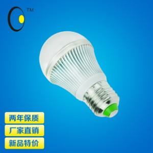 2014夏季新款 球泡灯系列铝壳球泡灯夏普款5W功率厂家批发直销