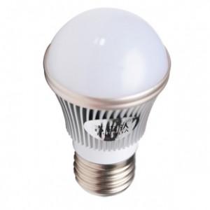 吉森达3w金边LED球泡灯 新款LED家用照明 全铝外壳磨砂或乳白面罩