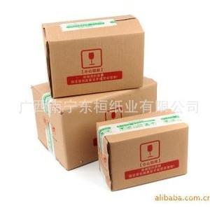 广西南宁纸箱包装厂 食用油纸箱 食品纸箱 水果纸盒 纸包装定制