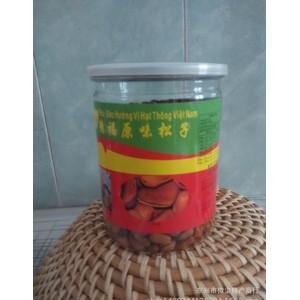 休闲食品越南特产坚果德福原味松子500g易拉罐装