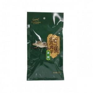 鳄鱼盟展鳄鱼熟肉干28g 原味休闲食品 健康营养特产零食