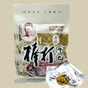 广西特产  吴常昌牛巴批发 原味 香辣 108G