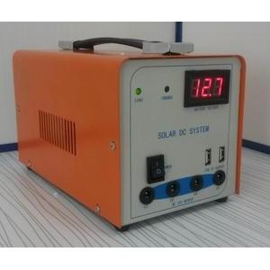 12V便携式太阳能发电设备,应急照明系统,适合野外宿营,夜摊