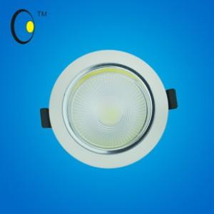 2014新款COB天花灯暖色射灯 6寸常规COB筒灯20W大功率批发