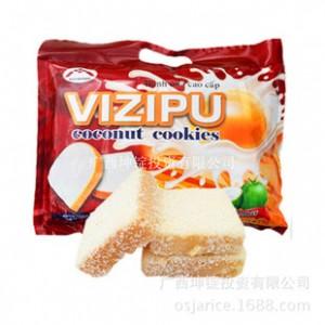 越南进口面包干 VIZIPU 椰子味面包干味超TIPO零食特产