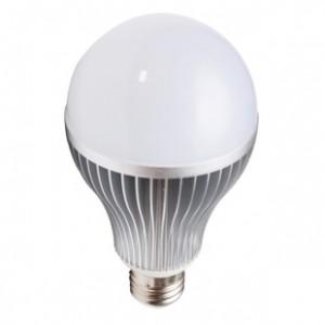 吉森达15w银色LED球泡灯乳白罩 LED灯具 新款 大功率 厂家批发