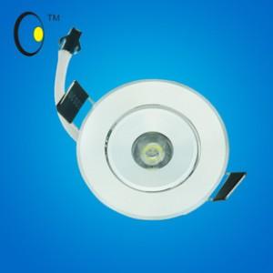 新款LED灯具美观实用1W小射灯COB高光效节能厂家货源诚招代理