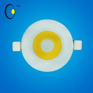 淘宝热卖2014新款COB天花灯暖色射灯 CXL系列5W大功率筒灯批发