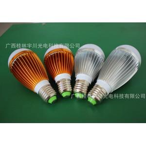 竖条纹铝合金LED球泡灯