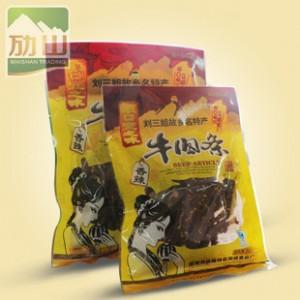 厂价批发广西宜州刘三姐家乡特产顺口牛肉条/牛肉干80g香辣多口味