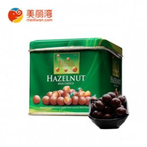 马来西亚特产 爱芙榛子牛奶巧克力铁罐105g  旅游礼品  批发