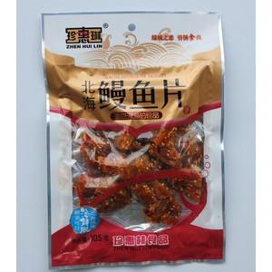 直销北海特产  优质鱼干鱼丝 105g北海鳗鱼片