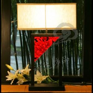 中山古镇风格创意灯饰灯具 布艺灯罩