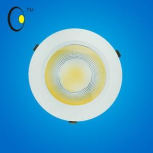 COB天花灯A系列暖色射灯3寸COB黑白筒灯5W大功率厂家批发