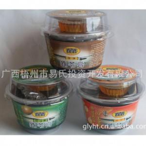 【广西名牌梧州特产】易博士罗汉果龟苓膏(特价)有糖杯龟苓膏