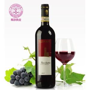 意大利进口红酒贸易 罗切特基安蒂干红进口葡萄酒 750ml瓶装批发