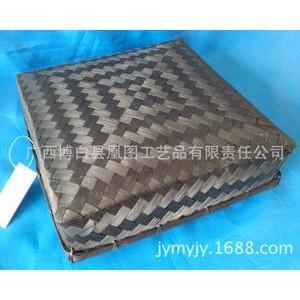 厂家自产自销手工编织竹盒 专用于礼品包装