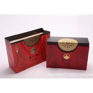 南宁纸盒包装生产厂家  高档品牌 大红炮 红茶叶礼品盒 包设计