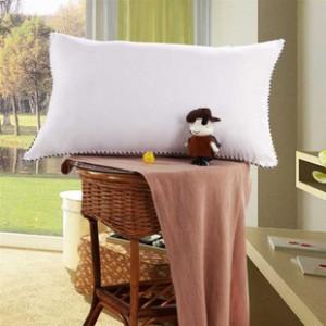 家纺品质磨毛助眠枕芯保健枕超柔舒睡枕单人枕头枕芯床品一只装