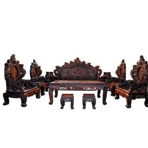 老挝红酸枝家具 红木沙发 大宝鼎沙发