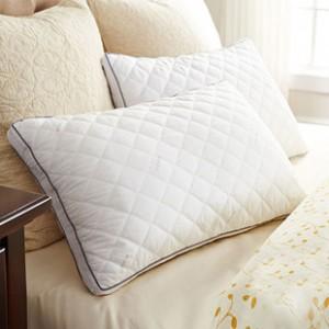 家纺枕头枕芯超柔软可水洗全棉单人枕羽丝绒枕决明子保健护颈椎枕