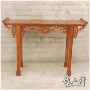 【艺品轩】仿红木家具 中式古典 实木榆木 全手工打造 台案条案