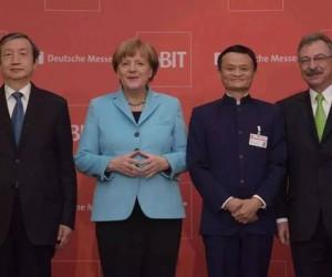 """在德国CeBIT,马云除了""""刷脸"""",还说了这些话!(附演讲)"""