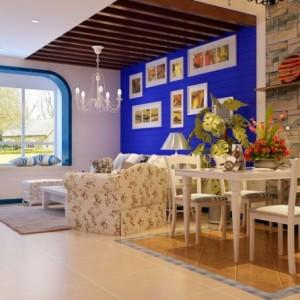 地中海风格二居室欣赏